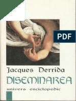 Jacques Derrida - Diseminarea