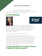 La Dieta de La Dra Johanna Budwig