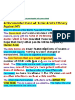 Humichealth.info -01.1 a Documented Case of Humic Acid's Efficacy Against HIV