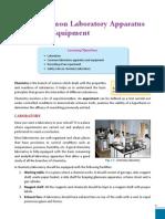 Common Laboratory Instruments