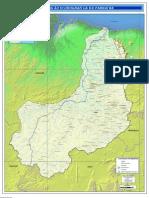 Regiao Hidrografica Do Parnaiba-Mapa