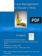 Oxidation and Management of So2