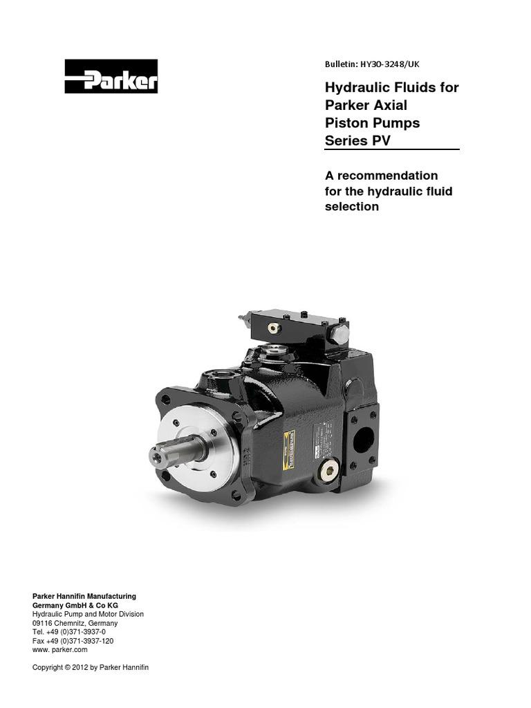 Hydraulic Pump Parker Motor Oil Wiring Diagram
