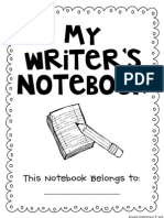 All about me Notebook