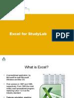 Excel Presentation 2