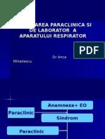 1. Explorarea Functionala a Aparatului Respirator 2013