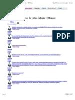 Gilles Deleuze - Frases, Pensamentos e Citações - KD Frases