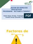 Presentación Factores de Riesgo y Protectores