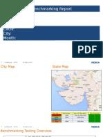 Sample Benchmarking Report