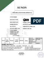 Sunon Motor