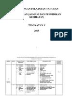 rancangan pengajaran tahunan pjpk tingkatan 3 2015