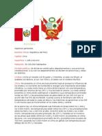 Informacion de Nuestro Peru