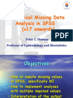 Practical Missing Data Analysis in SPSS