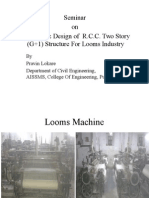 Two story Machine building