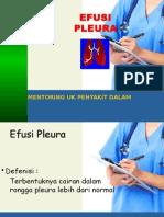 Mentoring Efusi Pleura