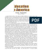 3-06-2010 Education in America