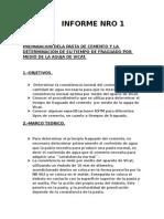 Informe Nro 1 de Tecnologia de Materiales