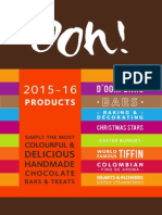 Ooh! Chocolata 2015-16 Brochure