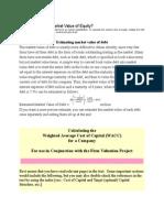 Estimating Firmvalue