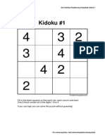 Tutorial de Kidoku