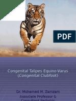 Congenital Talipes Equino-Varus (1)