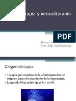 Oxigenoterapia y Aerosolterapia