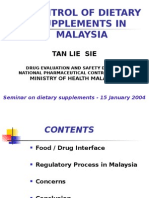 Dietary Supplements Seminar 2004