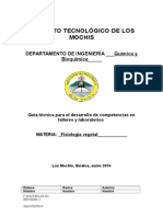 Prácticas Formato de Auditoria Fisiologia Vegetal Completo 2015