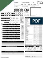 Ficha de RPG Quest (Estilo d20)