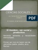 El Hombre, Ser Social y Productivo.