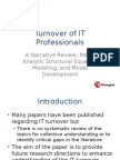 Turnover of IT Professional_Presentation