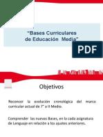 Nuevas Bases Curriculares de Lenguaje.