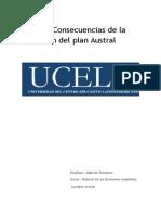 Plan Austral Causas Y Consecuencias BY Luciano Areste