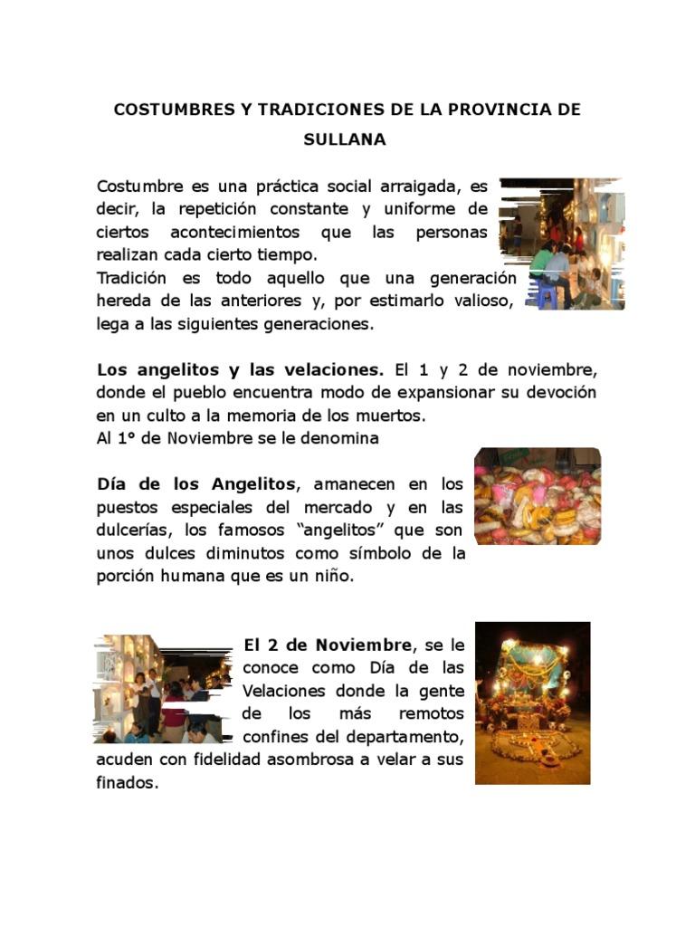 07dd7de2d Costumbres y Tradiciones de La Provincia de Sullana