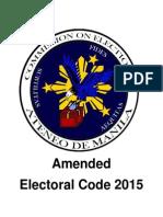 Ateneo COMELEC ElectoralCode 2015