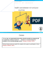 Inequalities in health care between rich and poor countries