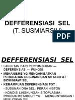 Kuliah - Biologi - DeFFERENSIASI SEL (Edit&Print)