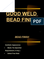 Good Weld Bead Finish (W-10)