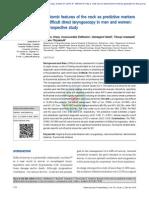 Características Anatómicas Del Cuello Como Marcadores Predictivos de Dificultad Para Laringoscopia Directa en Los Hombres y Las Mujeres
