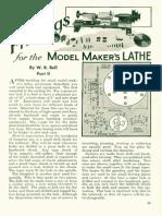Lathe Modelling