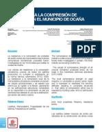 Resistencia a La Compresión de Ladrillos en El Municipio de Ocaña