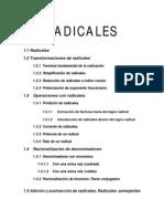 1.1 Radicales 1.2 Transformaciones de Radicales