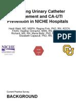 University of Colorado NICHE Practice Survey Summary
