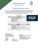 Maestría en Ingeniería Civil Con Mención en Estructuras