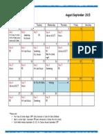 september 2015 calendar mk