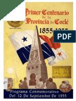 Primer Centenario PROVINCIA DE COCLE