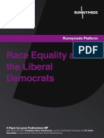 Race Equality And The Liberal Democrats