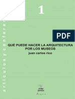 Los Problemas Actuales de La Arquitectura de Museos PDF EPUB P