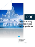 Taller geomorfologia - Glaciares