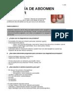 Patología de Abdomen Superior
